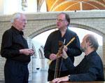 Paul Dombrecht, Wieland Kuijken en Robert Kohnen Trio