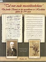 Tal van oude muziekboekskens