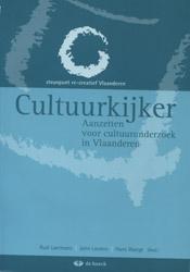 Cultuurkijker - aanzetten voor cultuuronderzoek in Vlaanderen