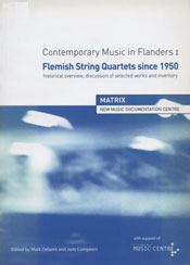 Contemporary Music in Flanders I