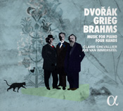 Dvorák Grieg Brahms - Music for piano four hands